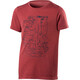 Houdini Junior Big Up Message Tee hut red